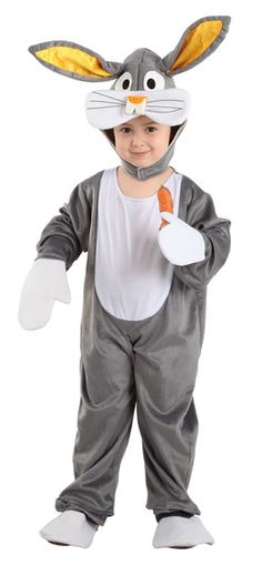DisfracesMimo, disfraz conejo bugs bunny infantil varias tallas. Podrás convertir a los más pequeños de la casa en este dulce y tierno animalito del bosque en Carnaval o Fiestas de la Guardería o Cumpleaños.Este disfraz es ideal para tus fiestas temáticas de disfraces de animales para bebes. fabricacion nacional.