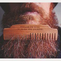 Custom engraved No.53. This one crack me up. #bigredbeardcombs #beardcomb #pocketcomb #comb #beard #bearded #beardcare #menstyle #girlswholovebeards #beardgame #beardgang #beardlife #beardsofinstagram #beardstagram #beardstildeath