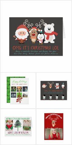 Modern Christmas Cards & Invitations
