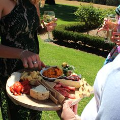 Canapes in the garden #countryweddings #weddings #eyg2016 #eatyourgreens