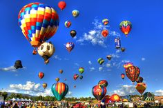 The 34th annual Great Reno Balloon Race is the world's largest free hot-air balloon event and is taking place September 11 - 13 at Rancho San Rafael Park. With hundreds of balloons, crafts and vendors, this is an event you can't miss! #thisisreno