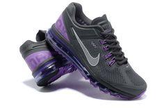 nike air max 2013 mens gray purple sneakers p 2608