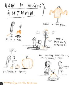 How To Relish Autumn - Oliver Jeffers