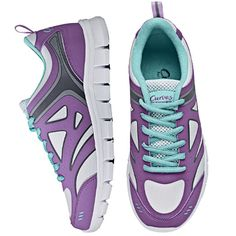 AVON CURVES ON THE CIRCUIT SNEAKER #avon #exercise #shoes #curves