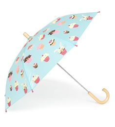 Hatley Childrens Cupcakes Umbrella for Girls Miss Cupcake, Kid Cupcakes, Childrens Cupcakes, Kids Umbrellas, Umbrellas Parasols, Things To Buy, All Things, Rockabilly, Cupcake Boutique