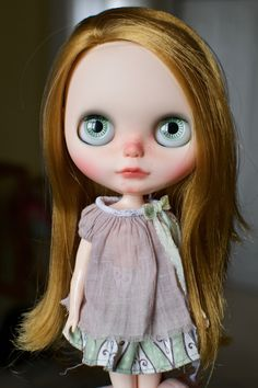 OOAK Custom Blythe Doll Face Up and Customized - Max by ChassyKnitLove on Etsy https://www.etsy.com/listing/386246846/ooak-custom-blythe-doll-face-up-and