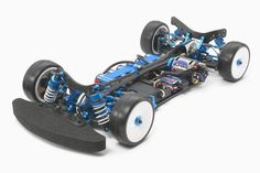 The chassis for the Tamiya car model. Lower Deck, Belt Drive, Tamiya, Radio Control, Rc Cars, Electric, Tech, America, Model