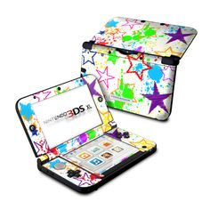 Nintendo 3DS XL Skin - Scribbles by FP | DecalGirl