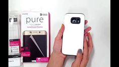 araree Galaxy S7 Case, [Amy] Dual Layer TPU Bumper+PC Hard Back Case Pur...