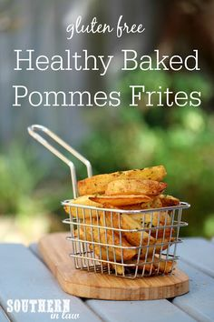 Healthy Baked Pommes Frites Recipe – Inspired by Cafe Orleans in Disneyland, this easy copycat side dish recipe is healthy, gluten free, grain free, low fat, sugar free, a clean eating recipe and so easy to make! So much tastier than your average French fries! Healthy Side Dishes, Side Dish Recipes, Macro Meals, Macro Recipes, Nut Free, Grain Free, Allergy Free Recipes, Healthy Recipes, Gluten Free Living