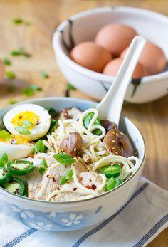 Amazing Slow Cooker Chicken Ramen Noodles Recipe.