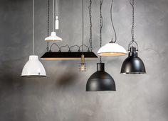 Stel je eigen lamp samen en creëer een unieke Basic Industrial lamp.