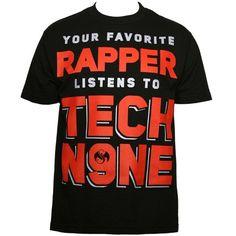 Black Favorite Rapper T-Shirt