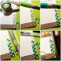 A Quidditch tower in six simple steps ❤ #pottermeetsplanner #potterfilo