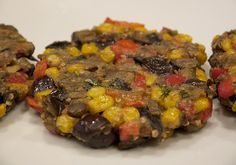 Food Hunter's Guide to Cuisine: Eggplant Patties Vegetarian Recipes Easy, Real Food Recipes, Cooking Recipes, Healthy Recipes, Healthy Foods, Corn Recipes, Healthy Lunches, Vegetarian Food, Diabetic Recipes