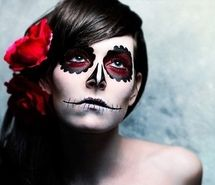 Inspiring picture art, calavera, cool, costume, cultur, cute. Resolution: 500x319 px. Find the picture to your taste!