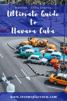 The Ultimate guide to Havana, Cuba is here! The one stop for all things Havana - sightseeing, local experiences, restaurants and other travel tips! Include these in your Havana Cuba Travel Itinerary #havana #havanaguide