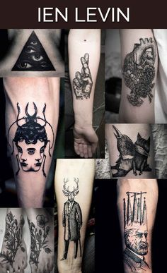 Ien Levin in Kiev, Ukraine | The 13 Coolest Tattoo Artists In The World