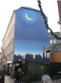 Værnedamsvej, Vesterbro street art wall mural