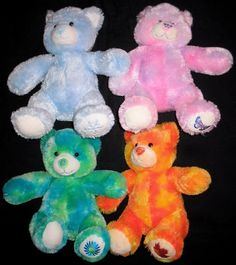 Build A Bear Workshop SEASONS Winter Spring Summer Fall Bears