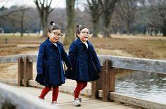 大人気双子のりんあんちゃんが着こなすおしゃれで可愛いリンクコーデ:Timeline - UNIQLO ユニクロ