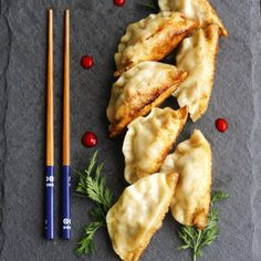 Wolfgang Puck's Pot Sticker Recipe | Recipes to Try | Pinterest | Pot ...