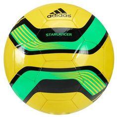 Balón de fútbol Adidas Starlancer ADIDAS. Para la partida con los amigos.http://www.decathlon.es/balon-de-futbol-adidas-starlancer-id_8236427.html?utm_source=social_medium=pinterest_term=balon_campaign=verano_2013