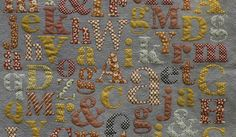 Alphabet Soup from cutting Cloth collection