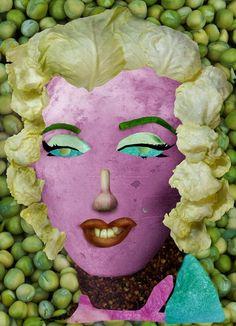 Ju Duoqi và những kiệt tác nổi tiếng từ rau củ quả