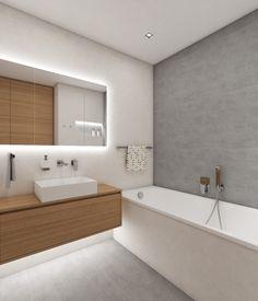Architect Katka Petkovšek for Perfecto design: Moderní koupelna GAP