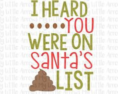 Santas list SVG, DXF, EPS, png Files for Cutting Machines Cameo or Cricut - toilet paper svg - funny Christmas svg - funny gag gift Gag Gifts Christmas, Trending Christmas Gifts, Christmas Gifts For Boyfriend, Christmas Svg, Christmas Humor, Boyfriend Gifts, Holiday Gifts, Christmas Ornaments, Best Gag Gifts
