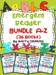 Students can benefit from these readers by tracking print, identifying spaces between words, identifying particular letters of the alphabet, recognizing sounds (beginning, middle, and ending) in each word, and reading sight words and grade level text.$