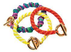 DIY bracelets (dieorfree on tumblr)