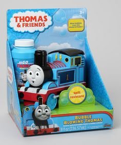 Take a look at this Thomas the Tank Engine Bubble Blower by Thomas & Friends on #zulily today!