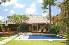 Bali villa/Bali resort lifestyle. Landscape design and swimming pool