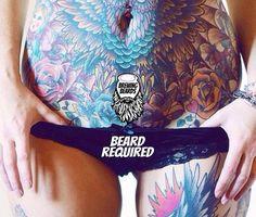 """Beard Required ~~ Use promo code ""MOVEMBER"" for 15% off wax/ wax kits Visit BrewingBeards.com #BrewingBeards #uygp ☕ #beard #beardgang #beards…"""