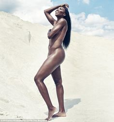 Stripped down: The tennis star posed naked for ESPN Magazine's Body Issue, and also reveal...