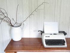 What to do with an old typewritter