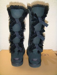 long uggs with bows