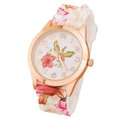 Reloj con mucho estilo