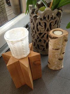 Wohnbrise: Holz Stern