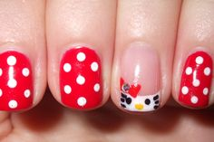 cute hello kitty manicure :)