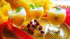 Surinaams eten – Mangoccino (luxe mango dessert)