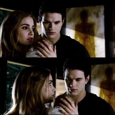Rosalie and Emmett with Renesmee