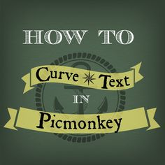 You use it, you love it. But how to you get text to align with PicMonkey's cool curved banners? Clarity Creative Group shows you how.