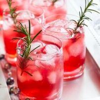 Bubbles Cocktail.