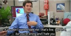 If you don't want to date me...