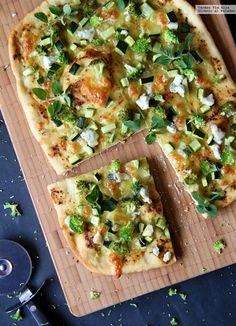 Las 47 mejores recetas de Thermomix para el verano Good Healthy Recipes, Healthy Life, Vegetarian Recipes, Healthy Eating, Cooking Recipes, Go Veggie, Vegetable Pizza, Mozzarella, A Food