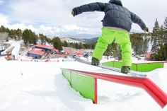 Great Divide's terrain parks. Photo courtesy of Great Divide Ski Area. Helena, Montana