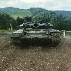 The power of Russian army T-90A.